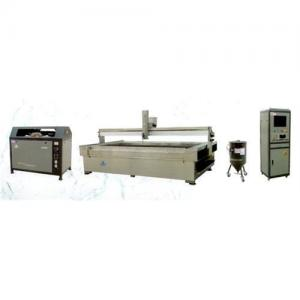China Waterjet cutter(stone,glass,ceramic,stainless steel,aluminium,rubber,plastic,leather,metal) on sale