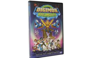 China New Released Digimon The Movie DVD Latest Hot Selling Movie Films DVD Wholesale on sale