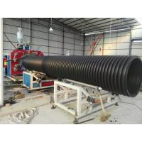 China large diameter corrugated drain drainage sewage pe hdpe plastic pipe tube machinery  equipment for sale on sale