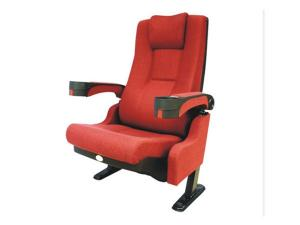 China Fire Resistance PP Armrest Movie Theater Seats With Head Pad on sale