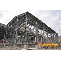 China Environmental Industrial Steel Building For Warehouse , Roof & Wall on sale