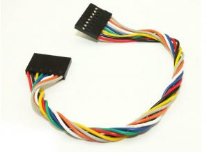 China 8 Pin Jumper Wire Female To Female For Arduino , 20cm Dupont Wire Cable on sale