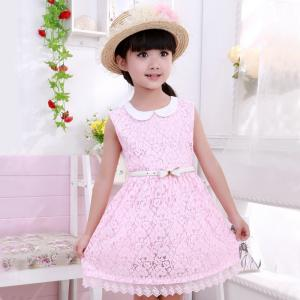 China Wholesale 2014 Summer Children Clothes, Lace Children Girl Dress 8-9 year girl dresses on sale