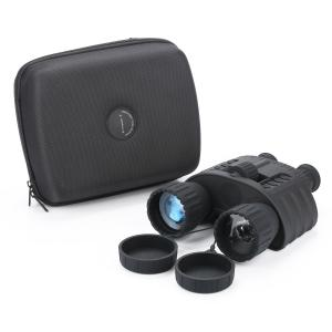 China 4x50 Night Vision Binoculars Telescope With Infrared Illuminator Images And Video on sale