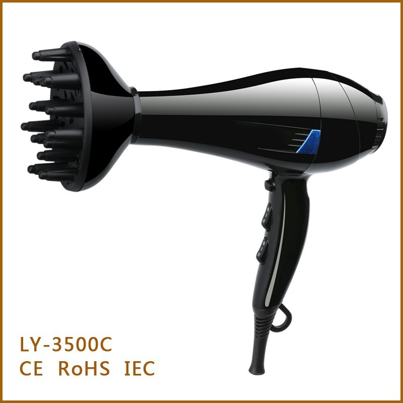 salon style hair dryers low price professional salon hair dryer with concentrator 3251