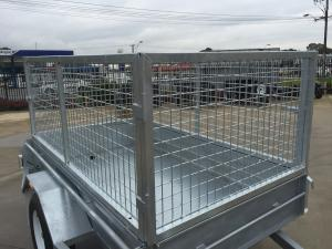 China Hot Dipped Galvanized Heavy Duty 10x5 Cage, Mesh Cage, Stock Crate on sale