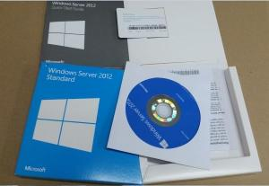 China 5 CALS Windows Server 2012 Retail Box Activation Sever License Media on sale