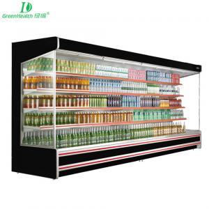 China Green And Health Remote Multideck Refrigerated Display Auto - Defrost Type on sale
