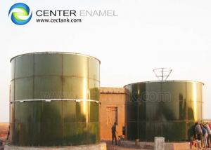 China Glass Lined Steel Bolted Tank NSF Certificated For Storage Dry Bulk Silo on sale
