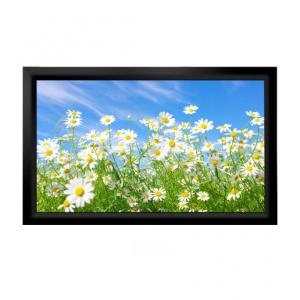 China 16:9 PVC Grey Fixed Frame Screen/Fixed Frame Projection screen/Fixed Frame Projector Screen on sale