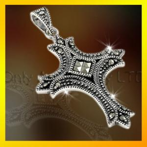 China hot selling 925 sterling silver cross pendant ,religious jewelry on sale