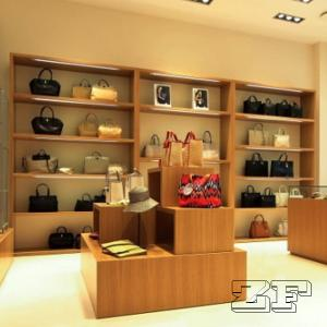 Luxury Handbag Display Cabinet Design