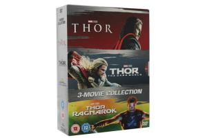China Thor 1-3 Box Set DVD Movie Action Adventure Comedy Movie Film DVD UK Version Wholesale on sale