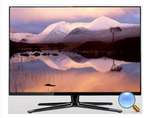 China Smart 1080P Flat Screen TV Digital HD LCD TV 65 Inch for Airport / Stations on sale
