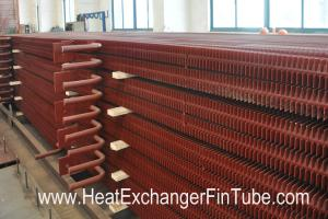 China A192 SMLS Carbon Steel H Fin Bolier Square Fin Tube of  Waste Heat Recovery Unit on sale