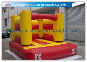 China Small Inflatable Bouncy Castle Kids Blow Up Bounce House For Rent / Home / Backyard on sale