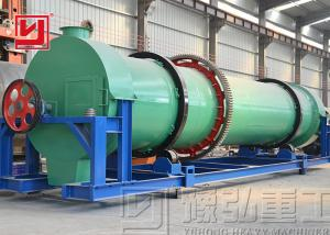 China 12-15T Rotary Dryer Machine for Cow Chicken Manure Drying High Capacity on sale