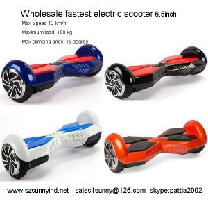 China LOW PRICE MINI 2 WHEEL ELECTRIC SCOOTER  two Wheeled Hoverboard 4400mah on sale