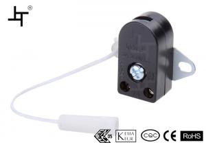 Quality Small Wall Mounted Housing Pull Cord Switch For Fluorescent Lamp