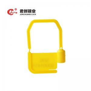 China Tamper proof shackle plastic padlock seal for garments, cargo on sale