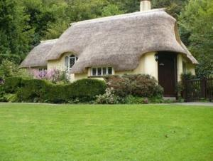 Synthetic Thatched Roof