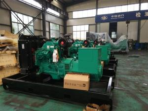 China 40KW/50kva Cummins Diesel Generator Set powered by 4BTA3.9-G2 color green on sale