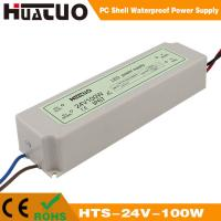 China 12/24V-100W constant voltage PC shell waterproof LED power supply on sale