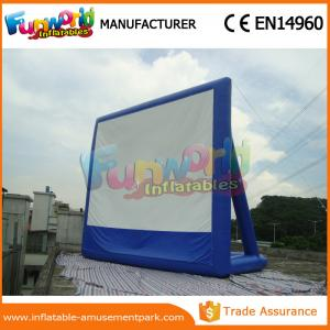 China Portable Inflatable Backyard Movie Screen Outdoor Games Inflatable Billboards on sale