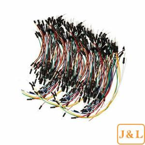 China 350 pcs New Flexible Solderless Breadboard Jumper Cable Wire Kits for Arduino Male To M on sale
