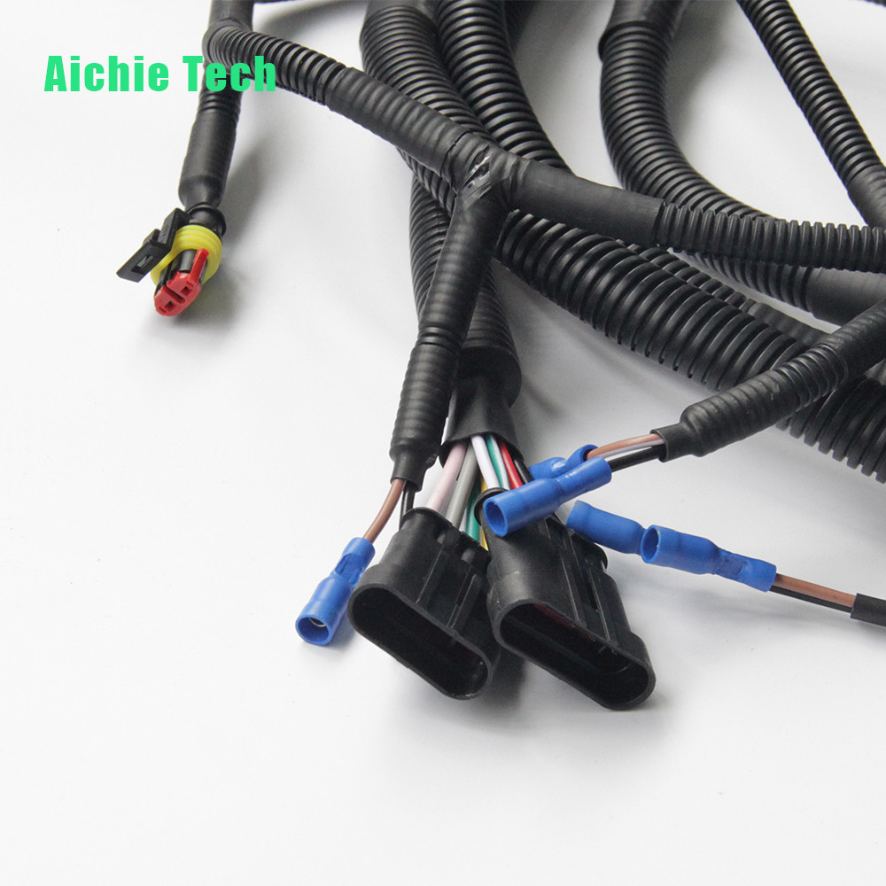 Universal Wiring Harness For Car Electronic Wire Cable Assembly Manufacturing Products Name Automotive