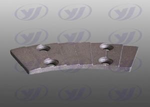 China ANSI Mixing Lining Plate 0.008mm Iron Casting Parts on sale