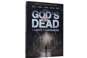 China Wholesale Latest Movie DVD God's Not Dead A Light in Darkness DVD Movie For Family on sale