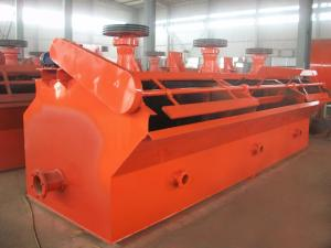 China High Efficiency Flotation Machine 30-200TPH For Ore Dressing Low Power Consumption on sale