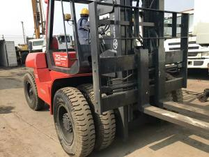 Toyota FD70 Second Hand Diesel Forklifts , 2 Stage Used 5 Ton Forklift for  sale – Used Diesel Forklift manufacturer from china (109001485).
