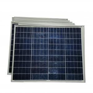 China Poly Crystalline Residential Solar Panels , 50W Household Solar Panel System on sale