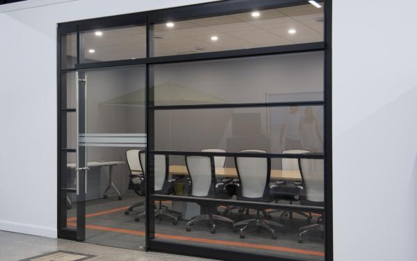 Aluminum Frame Tempered Glass Modern Office Partitions / Office Room Dividers  Partitions for sale – Modern Office Partitions manufacturer from china  (109786242).