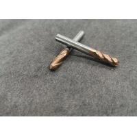 China Flat Ball Nose Tungsten Carbide End Mill 1/8 Inch 1/4 Inch 6mm 8mm For Iron Steel on sale