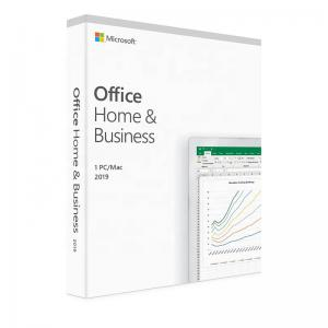 China Genuine Office 2019 Home And Business For PC / MAC Key Code Retail on sale