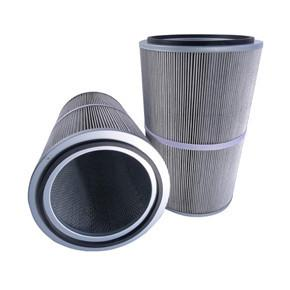 China High Flow Air Conditioner Filters Cartridge Anti Static Featuring Wide Pleat Spacing on sale