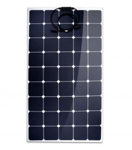 China Thin Film Amorphous SunPower Flexible Solar Panels 100w Corrosion Resistant on sale