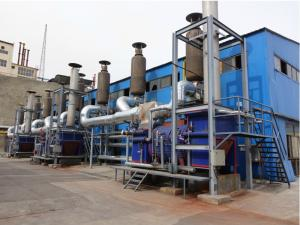 China Power Plant Generator Set Waste Heat Boiler High Heat Efficiency Small Size on sale