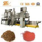 Dry Wet Type Floating Animal Feed Processing Equipment / Fish Feed Machine 1-5T/H