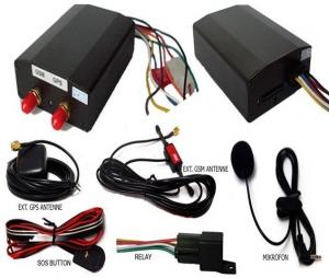 China 6V - 24V SIRF3 Chip Vehicle Mini GPS Trackers With 1500mAh Li-ion Battery on sale