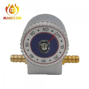 China Audio Alarm Timer Natural Gas LPG Shut Off Valve on sale