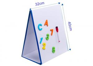China Custom Tabletop Portable Magnetic Easel Dry Erase Lamination 16 x 12 on sale