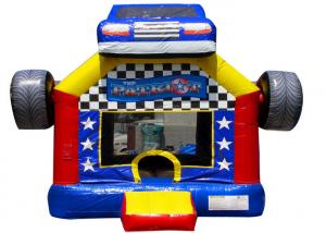 China Funny Patriot Inflatable Large Large Bouncy Castle Hire  , Childrens / Adult Bouncy Castle Hire on sale