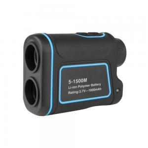 China 6X 25mm 5-1500m Laser Range Finder Distance Meter Telescope for Golf, Hunting and ect. on sale