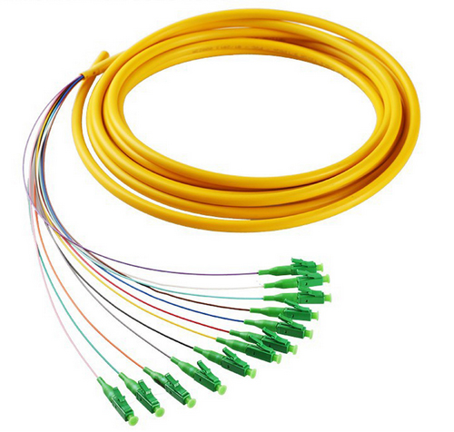 10pcs 12 core Fiber Optic Bundle Pigtail SC Single Mode Fiber Optical SM 9//125