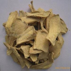 China Ad/ Air Dried/ Dehydrated Ginger Flakes on sale