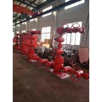 China Dual Wing Wellhead Christmas Tree API 6A Assembled With Hydraulic Master Valve on sale